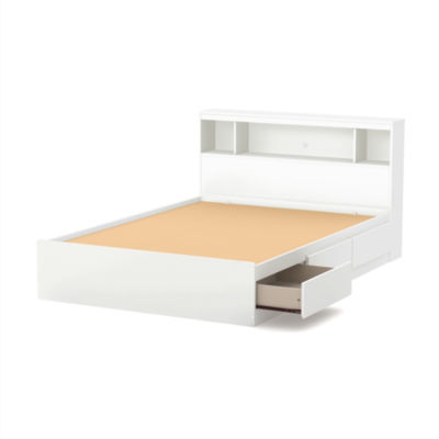Reevo Mates Bed With Bookcase Headboard