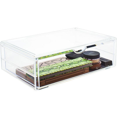 Sorbus XL Acrylic Stackable Cosmetic Organizer - 1 Drawer