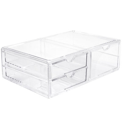 Sorbus 3-Drawer Stackable Acrylic Cosmetic Organizer XL