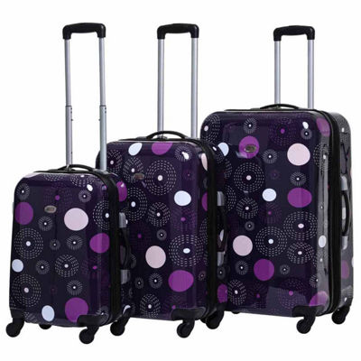 American Flyer Fireworks 3-pc. Hardside Luggage Set
