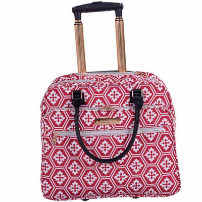 Jenni Chan Snow Flake 16 Inch Lightweight Luggage