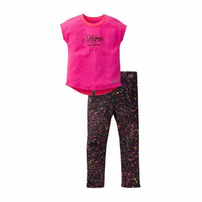 New Balance 2-pack Legging Set-Baby Girls