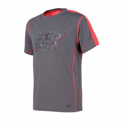 New Balance Short Sleeve Graphic T-Shirt-Preschool Boys