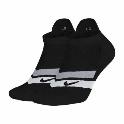 Nike® Running 2-pk. No Show Socks - Extended Sizes