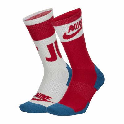 Nike® Sportswear 2 Pair Crew Socks - Mens