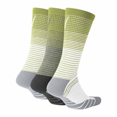 Nike® 3 Pair Dry Cushion Training Crew Socks - Big & Tall