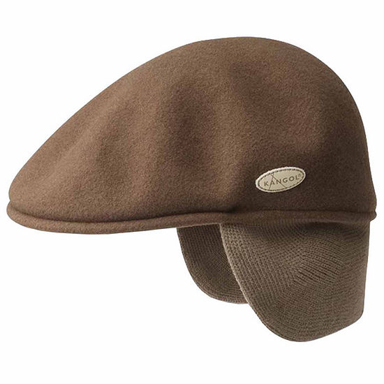 Kangol® Wool 504 Rib Knit Earflap Ivy Cap