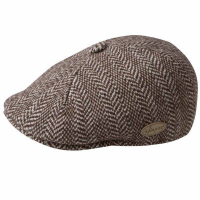 Kangol Wool Herringbone Ivy Cap