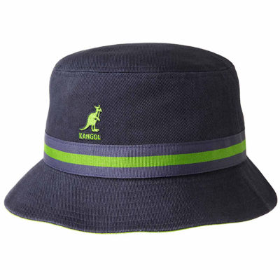 Kangol Bucket Hat with Striped Band