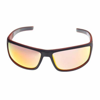 Xersion Full Frame Rectangular Polarized UV Protection Sunglasses-Mens