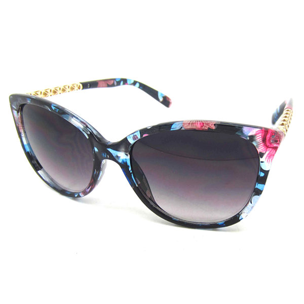 Fantas Eyes Full Frame Round UV Protection Sunglasses-Womens