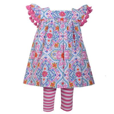 Bonnie Jean 2-pack Legging Set-Baby Girls