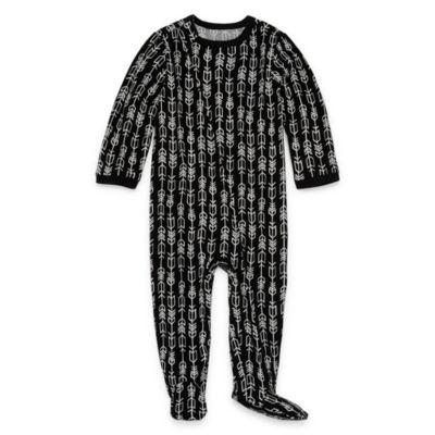 Okie Dokie Aztec Print Full Zip Sleep and Play - Baby NB-9M