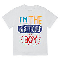 Okie Dokie Birthday Graphic T Shirt Toddler Boys
