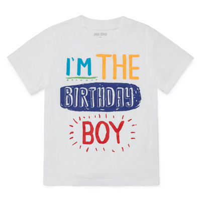 Okie Dokie Birthday Graphic T-Shirt-Toddler Boys