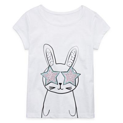 Okie Dokie 3D Graphic T-Shirt-Toddler Girls