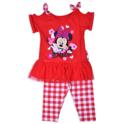 Disney 2-pack Minnie Mouse Legging Set-Toddler Girls