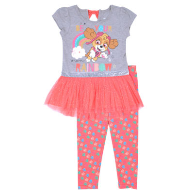 2-pc. Paw Patrol Legging Set-Toddler Girls