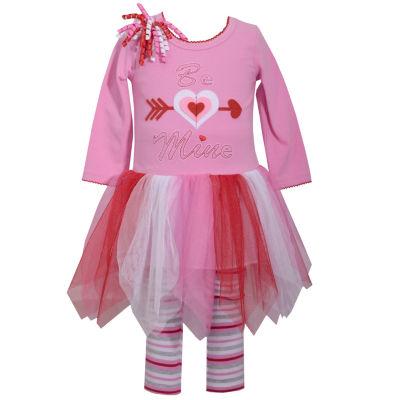 Bonnie Jean 2-pack Legging Set-Toddler Girls
