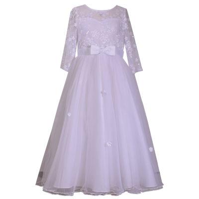Bonnie Jean 3/4 Sleeve A-Line Dress - Preschool Girls