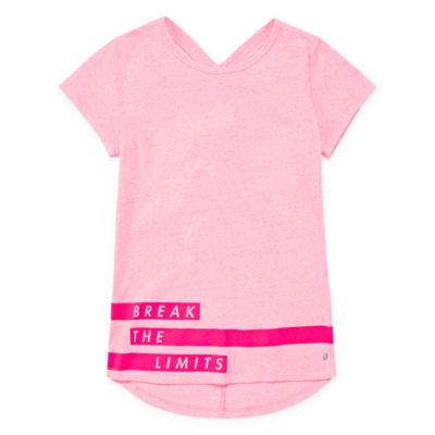 Xersion Fashion Keyhold Back Graphic Tee - Girls' Sizes 4-16 and Plus
