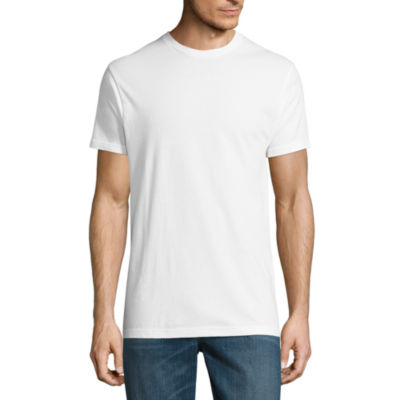 Stafford blended cotton 4 1 bonus pack crew t shirt jcpenney for Stafford white short sleeve dress shirts