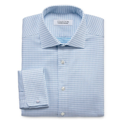 Collection by Michael Strahan  Wrinkle Free Cotton Stretch Long Sleeve Woven Dress Shirt