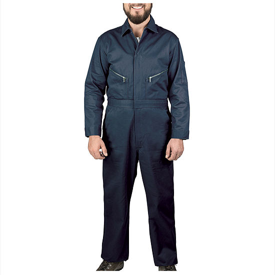 Walls Long Sleeve Workwear Coveralls-Big Short