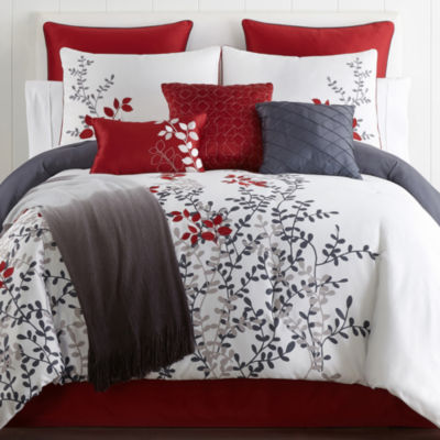 Home Expressions Cooper 10 Pc. Comforter Set