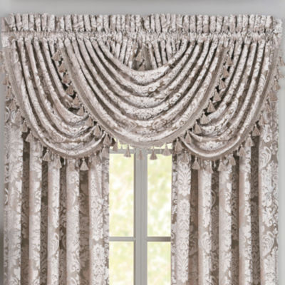 Queen Street Blair Rod-Pocket Waterfall Valance
