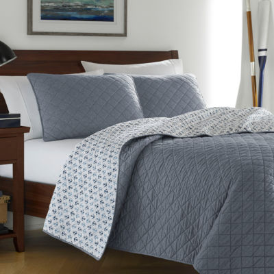 Poppy & Fritz Finn Blue Quilt Set