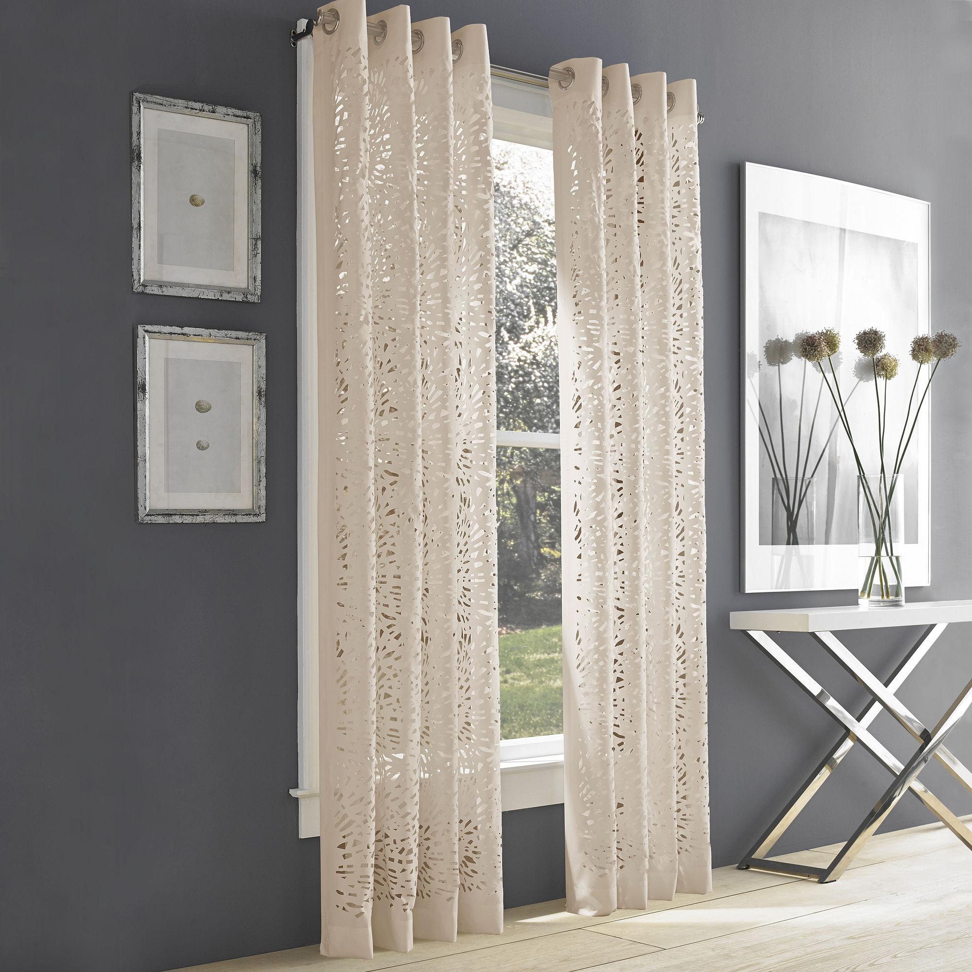 Queen Street Lagos Grommet-Top Curtain Panel