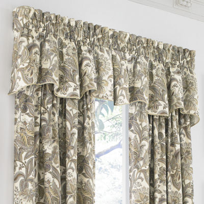 Queen Street Vaughn Rod-Pocket Curtain Panel