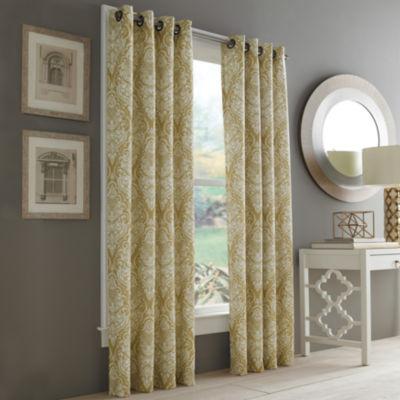 Queen Street Rockland Grommet-Top Curtain Panel