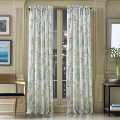 Queen Street Wyatt Rod-Pocket Sheer Curtain Panel