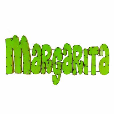 Rustic Arrow Margarita Metal Wall Art