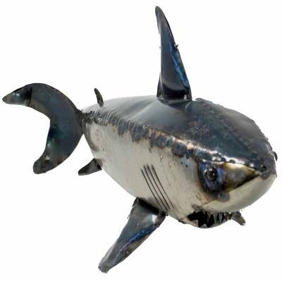 Rustic Arrow Shark 1 Figurine