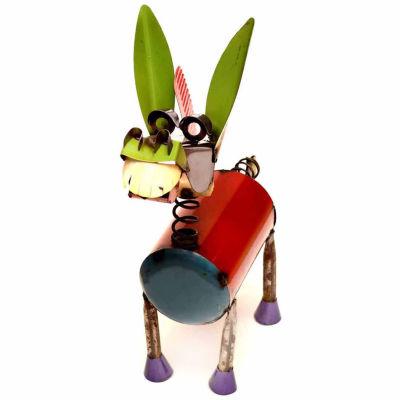 Rustic Arrow Spring Neck Donkey 1 Figurine