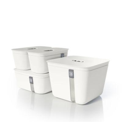 Vacuvita® Premium Vacuum Containers Complete 4-Piece Set