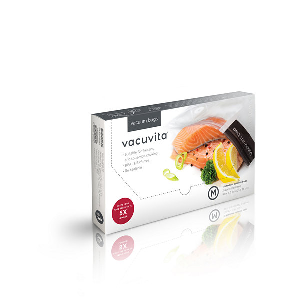 Vacuvita® Resealable Medium Vacuum Bags