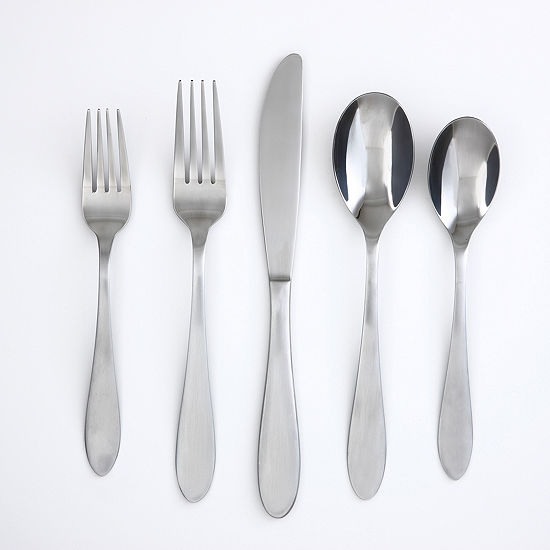 Cambridge Apex Satin Mirror 20-pc. Flatware Set