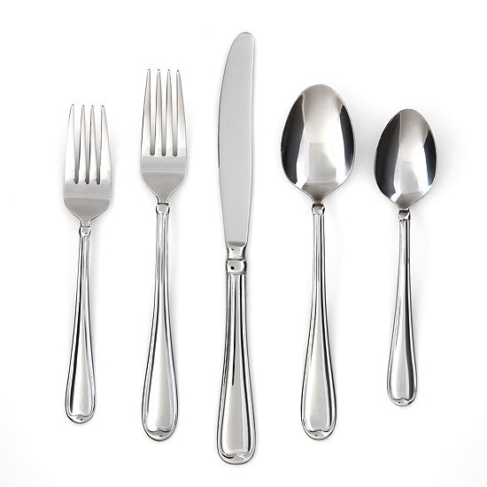 Cambridge Allure 40-pc. Flatware Set + Caddy