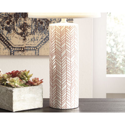 Signature Design by Ashley Jaci 2-pc. Ceramic Table Lamp