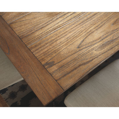 Signature Design by Ashley Prestonwood Rectangular Wood-Top Dining Table