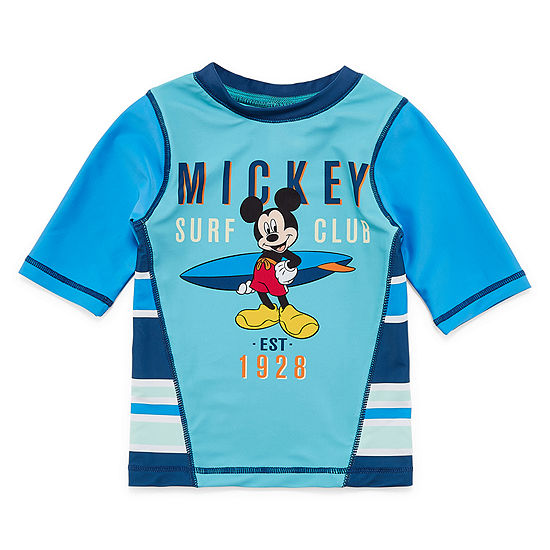 Disney Mickey Mouse Rash Guard - Boys 2-10