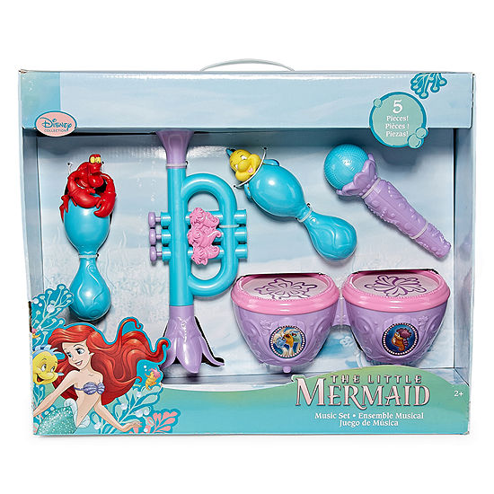 Disney Collection The Little Mermaid Musical Instruments Playset