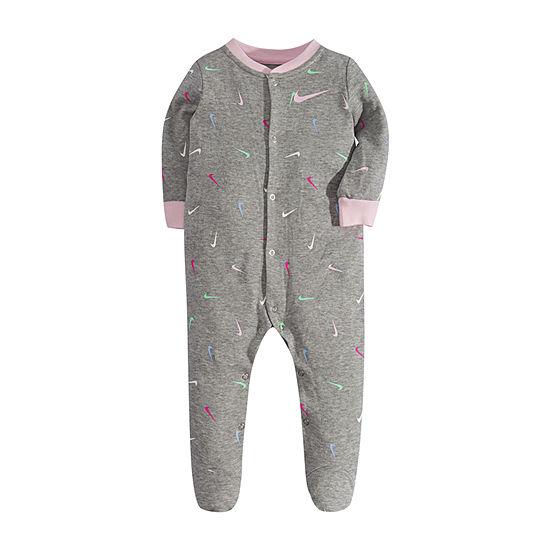 Nike Footed Girls Sleep and Play - Baby