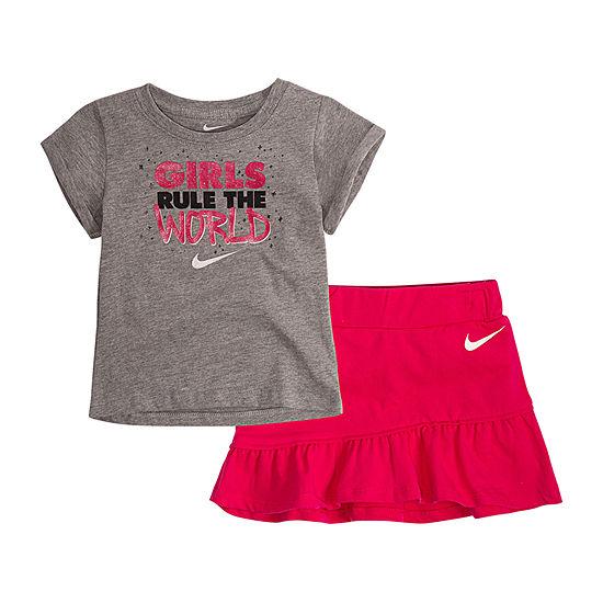 Nike Girls 2-pc. Skort Set