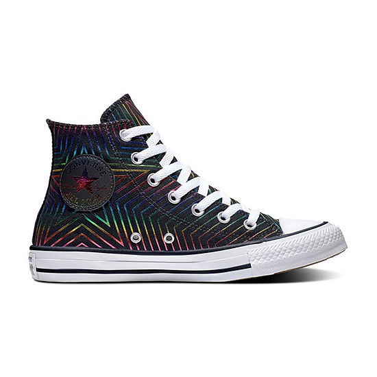Converse High Top Miss Galaxy Womens Lace-up Sneakers