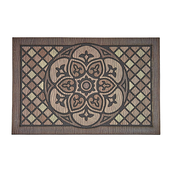 Mohawk Home Venetian Rectangular Outdoor Doormat